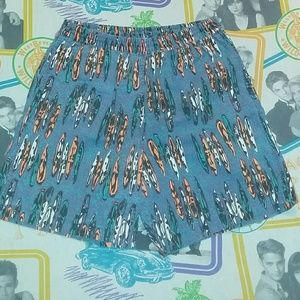 80s Islander Surf Board Swim Trunks Board Shorts
